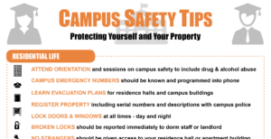 Campus Safety Tips - sm